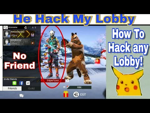 Hack any Free Fire Lobby ||  Tips and Tricks || Full Review by ||GSK|| 🇮🇳[Hindi]