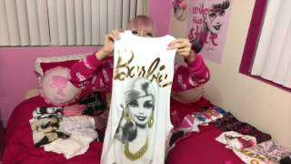 Sharing my Barbie T-shirts and Tank tops♡ Let's count how many I ha...
