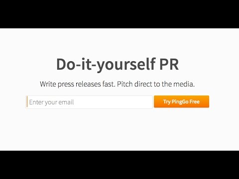 Ping go - Write press releases Free