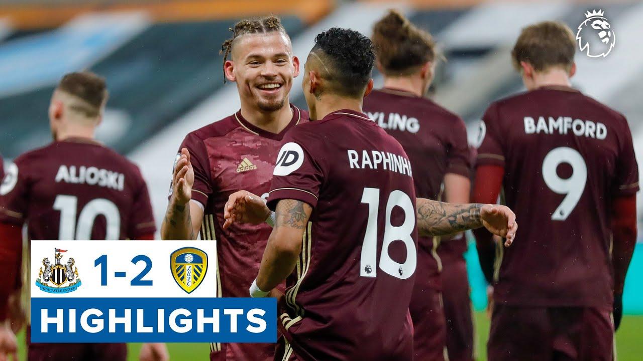 Newcastle United 1-2 Leeds United | Jack Harrison beauty wins it! | Premier League highlights