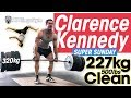 Clarence Kennedy SUPER SUNDAY 227kg / 500lbs Clean PR! 320kg Deadlifts + Heavyweight Tricking