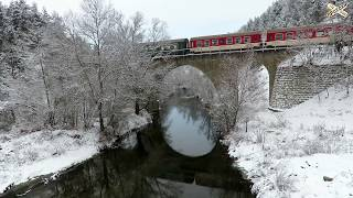 First snow  (2019) in Rhodope mountain Railway