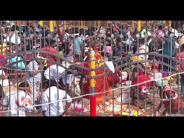 CM KCR To Offer Prayers To Sammakka And Saralamma   Medaram Jatara   V6 Telugu News