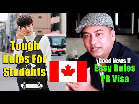 NEW RULES of CANADA 2019 Favours PR Visa