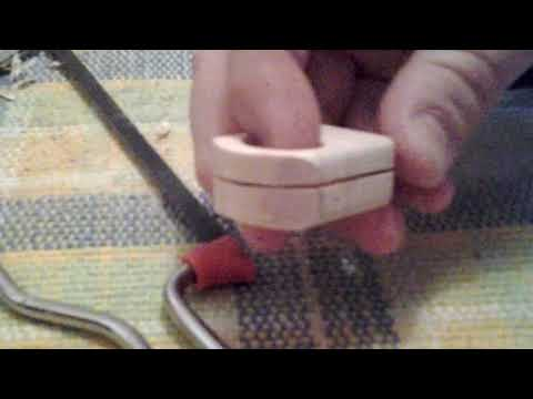 New resin wood ring I'm making