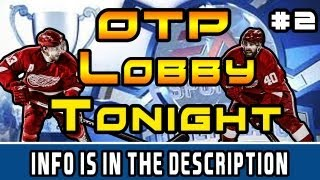 NHL 13: OTP Hockey Night #2 Tonight At 10:30 PM Eastern Time