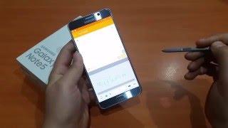 Samsung Galaxy Note5 Klavye Ayarları