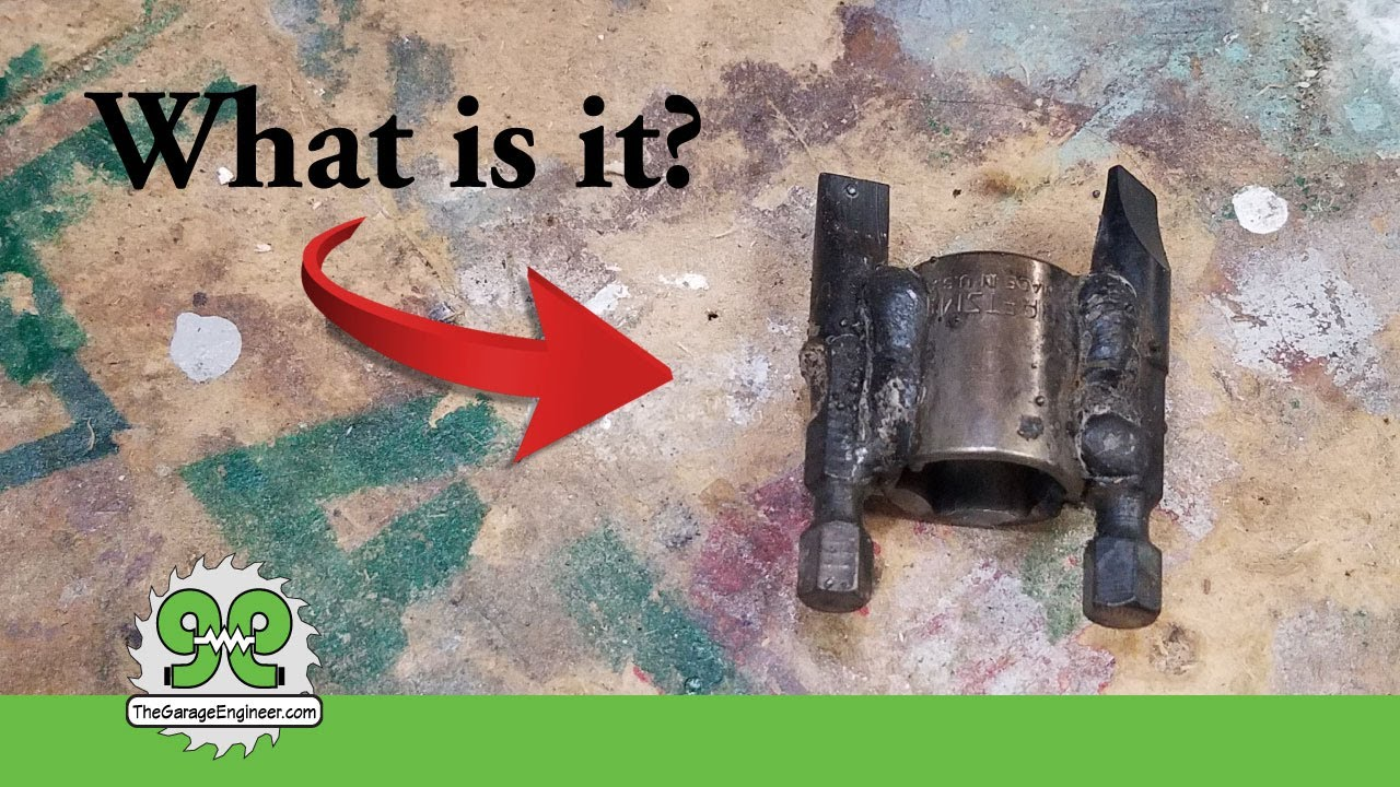 Clutch Removal Tool, Make your own small engine tool – The Garage Engineer