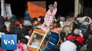 Millions Celebrate Our Lady of Guadalupe in Mexico City Video