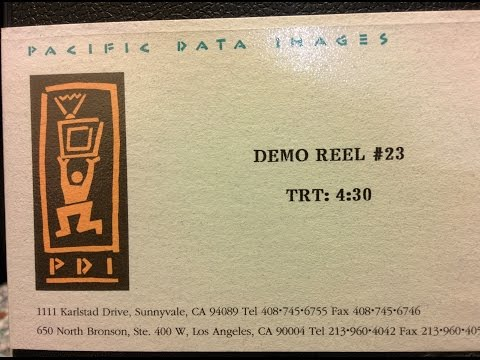 1995 Pacific Data Images PDI Demo 23