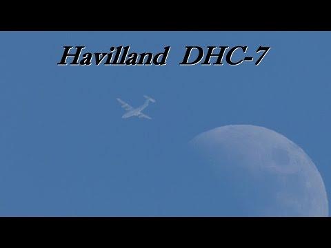 Avión Havilland Dash-7 C-GGXS Trans Capital Air.