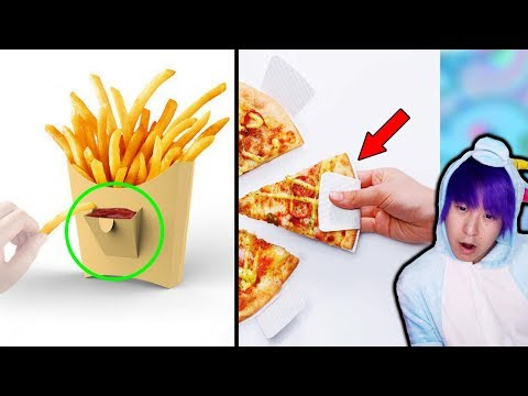 The MOST GENIUS Ways To Eat Food In The World!