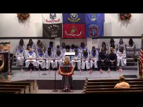 Veterans Day Program Millers Creek Christian School