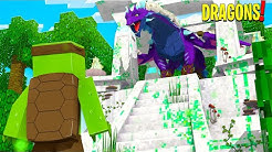 THE ELEMENTAL DRAGON TEMPLE! - Minecraft Dragons