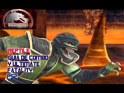 Mortal Kombat Armageddon Guia: Reptile Combo y Ultimate Fatality
