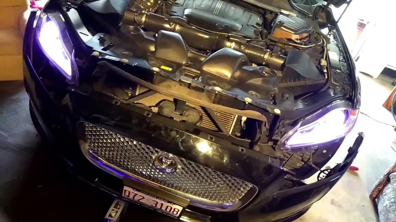 2011 to 2018 jaguar xjl replace headlights - YouTube Jaguar Xjl Supersport Wiring Diagram on