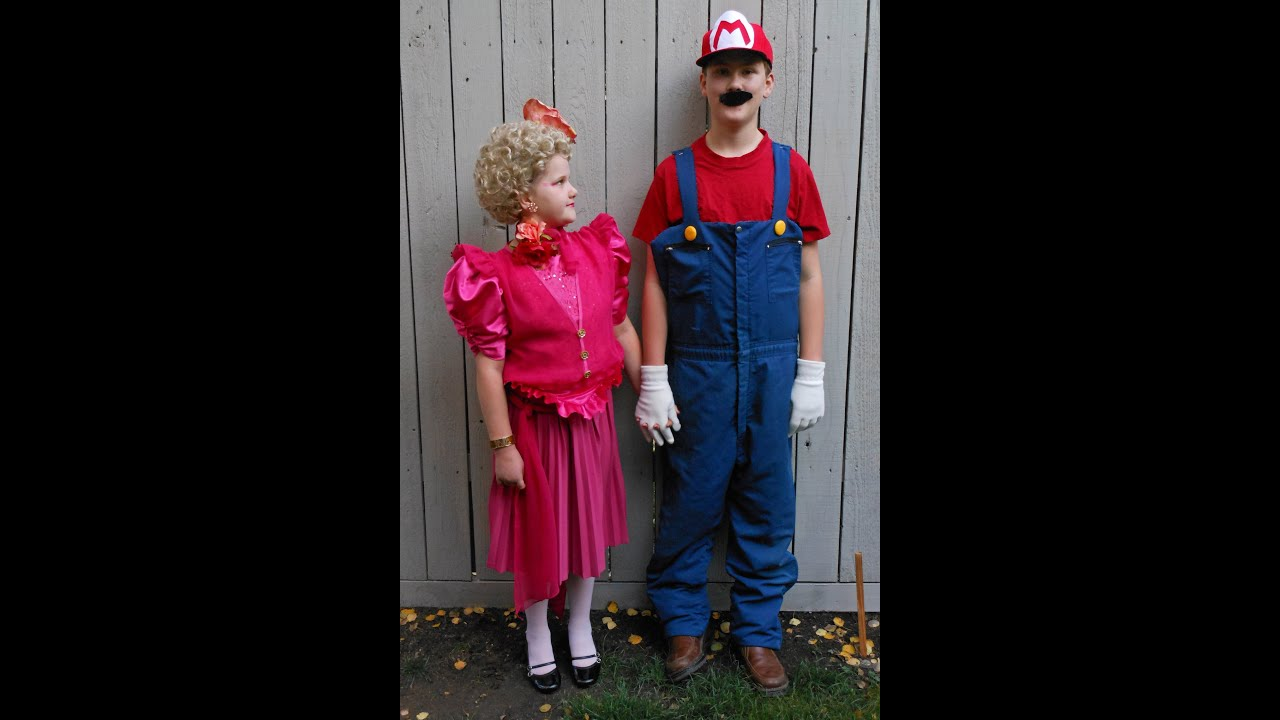 halloween costumes inexpensive recycled materials homemade effie trinket and mario
