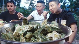 168 yuan to buy 5kg oysters, sister to do spicy chicken, seafood with chicken, enjoyable!