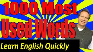 1000 English Words with Examples, Sentences and English Speaking Practice. Learn 86% of English