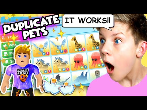 IT WORKS!! How To DUPLICATE PETS & Items in Roblox Adopt Me! Working  TikTok Hacks!