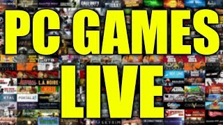 PC GAMES - LIVE