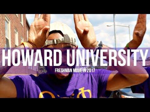 Howard University Freshman Move In 2017 VLOG