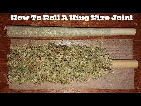 How To Roll A King Size Joint [Step by Step & Easy]