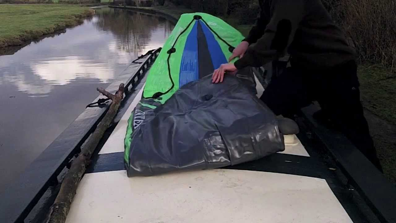 7d36551bbe Intex Challenger K1 Kayak Inflation Guide - YouTube