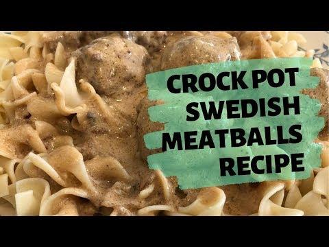 CROCK POT SWEDISH MEATBALLS RECIPE | EASY & BUDGET FRIENDLY