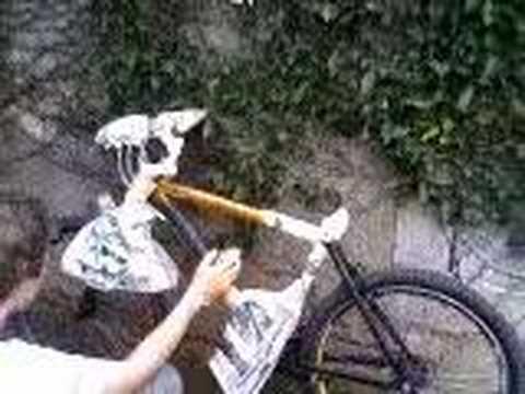 Pintando a Bike - YouTube