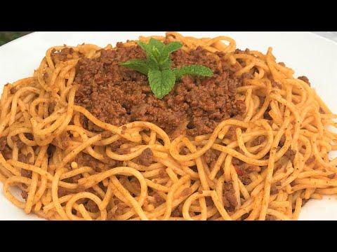 spaghettis-à-la-viande-hachée