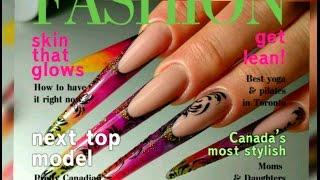 ШОК!!! МЕГА Дилинные НОГТИ от Татьяны Бугрий/Креативные Ногти