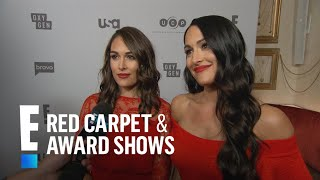 """Brie and Nikki Bella Tease New Season of """"Total Divas""""   E! Live from the Red Carpet"""