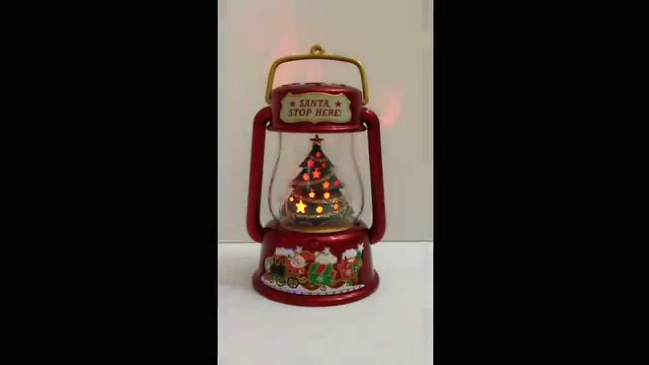 2013 Hallmark Keepsake Ornament Santa Signal Magic Light