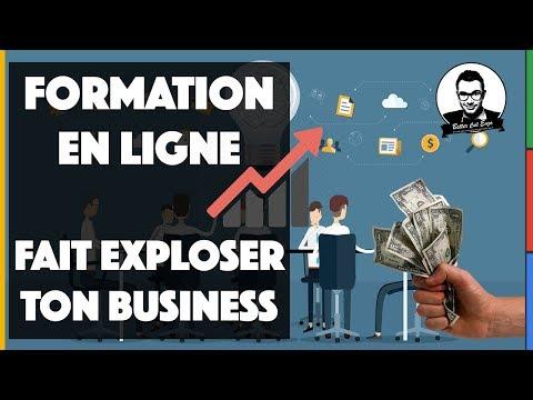 FORMATION EN LIGNE : COMMENT DÉVELOPPER SON BUSINESS