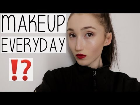 DO I WEAR MAKEUP EVERYDAY? | FULL STAGE MAKEUP GRWM + UNIVERSITY DANCE SHOW VLOG