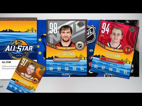 NHL 18 ALLStar Draft Champions