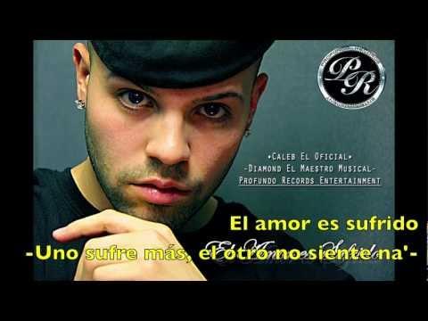Caleb El Oficial - El Amor Es Sufrido - Lyric Video
