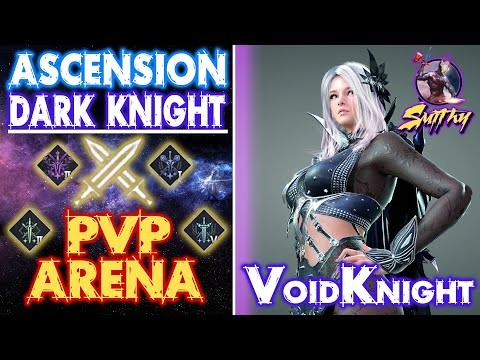 ⚔️Ascension Dark Knight (Void Knight) Arena PVP - Outplay - Black Desert Mobile Global, Smithy Build