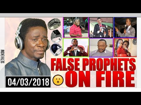 False Prophets On Fire  In Ghana By Evangelist Akwasi Awuah