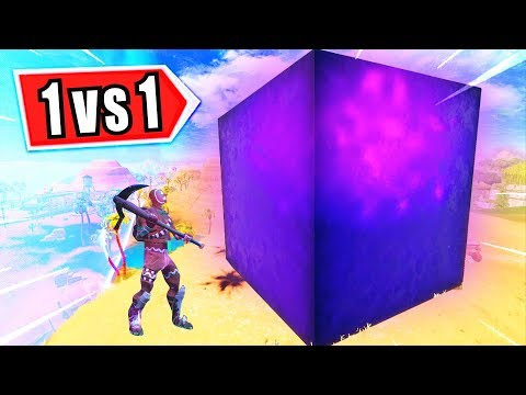 1v1 RIESEN WÜRFEL CHALLENGE in Fortnite Battle Royale