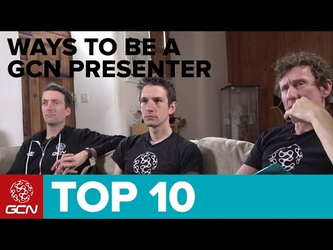 Top 10 Ways To Be A GCN Presenter