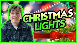 HOW TO HANG CHRISTMAS LIGHTS OUTDOORS - Whats Needed, 1,2,3 Story house, Ladder Sizes etc.!