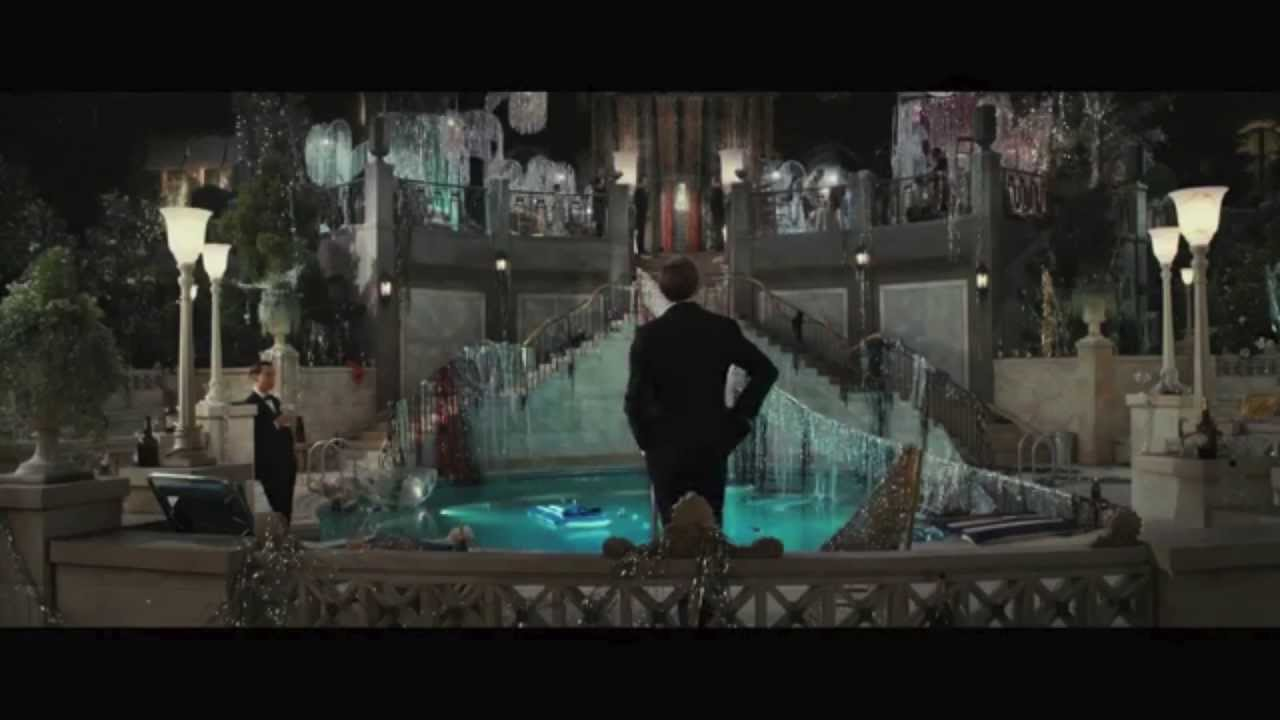 the great gatsby visual essay the green light