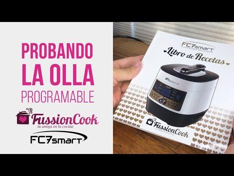 Probando la olla FussionCook FC7 Smart Programable
