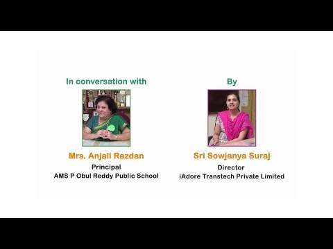 Life Skills 360 - In Conversation With Mrs. Anjali Razdan