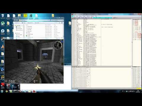 HOW TO HACK any game OLLYDBG TUTORIAL debugger  1/5