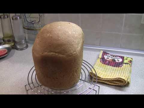 хлеб из цельнозерновой муки в хлебопечке Panasonic SD-ZB 2512