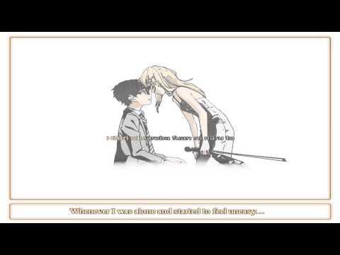 [Karaoke] Shigatsu wa Kimi no Uso Ed 2 - Orange (7!!)