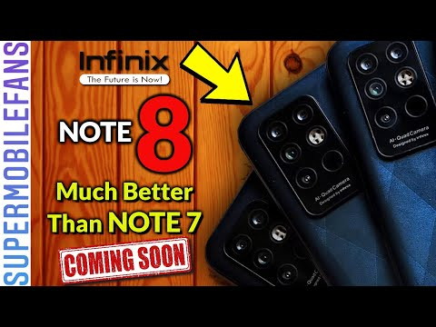Infinix NOTE 8 - Official Specifications, Design and Price | Much Better Than Infinix NOTE 7